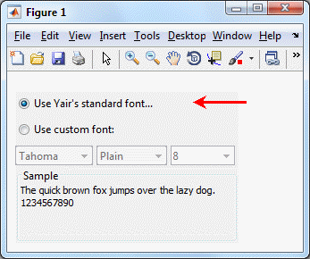 Non-standard DesktopFontPicker panel