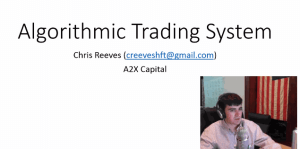 Click to view the Algorithmic Trading System presentation video