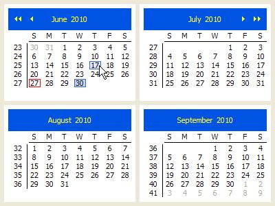 CalendarViewer