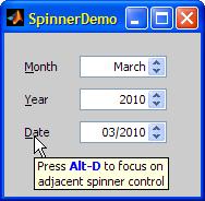 Matlab SpinnerDemo