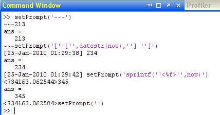 setPrompt usage examples